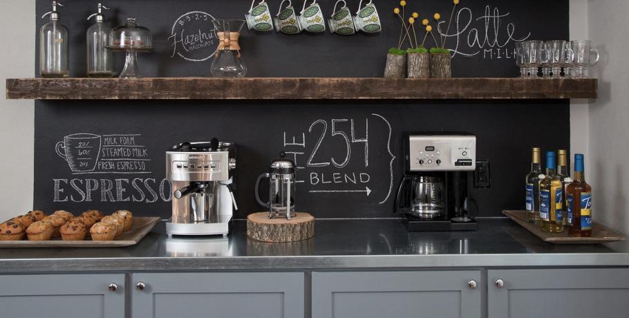 Coffee bar: aprenda a fazer um cantinho do café