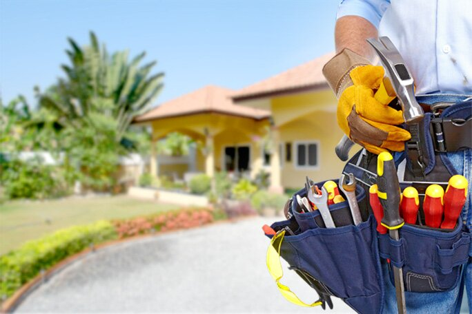 manutenção da casa